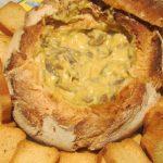 Pão Recheado com Cogumelos, Queijos e Maionese de Arroz