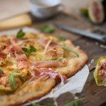 Pizza de Figo, Presunto e Queijo da Ilha