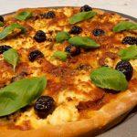 Pizza de Requeijão e Cogumelos
