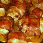 Rolinhos de Frango com Bacon