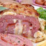 Rolo de Carne em Massa Folhada