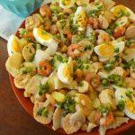 Salada de Bacalhau, Ovas e Camarão