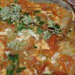 Sopa de Tomate com Ovos à moda do Alentejo