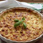 Tarte de Alho-Francês com Mozzarella