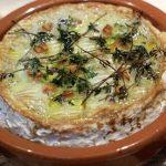 Camembert no Forno com Alho e Tomilho
