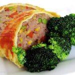 Rolo de Carne com Legumes e Massa Folhada