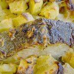 Bacalhau em Leite e Assado no Forno