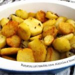 Batatas Salteadas com Alecrim e Tomilho