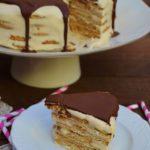 Bolo de Bolacha com Café e Chocolate