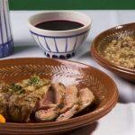 Carne da Cachena com Arroz de Feijão Tarrestre