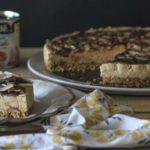 Cheesecake de Caramelo, Chocolate e Coco