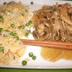 Chop Suey de Frango com Arroz Chau Chau