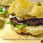 Hambúrguer em Pão Integral