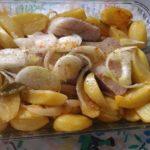 Pescada Assada no Forno com Batatas