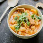 Sopa de Grão com Carne