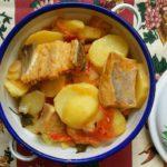 Batatas e Bacalhau à Espanhola