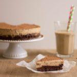 Bolo de Chocolate e de Mousse de Café